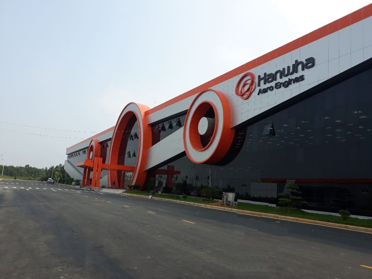Dự án Nhà máy Hanwha Aero Engines 200 triệu USD đầu tiên tại Hà Nội