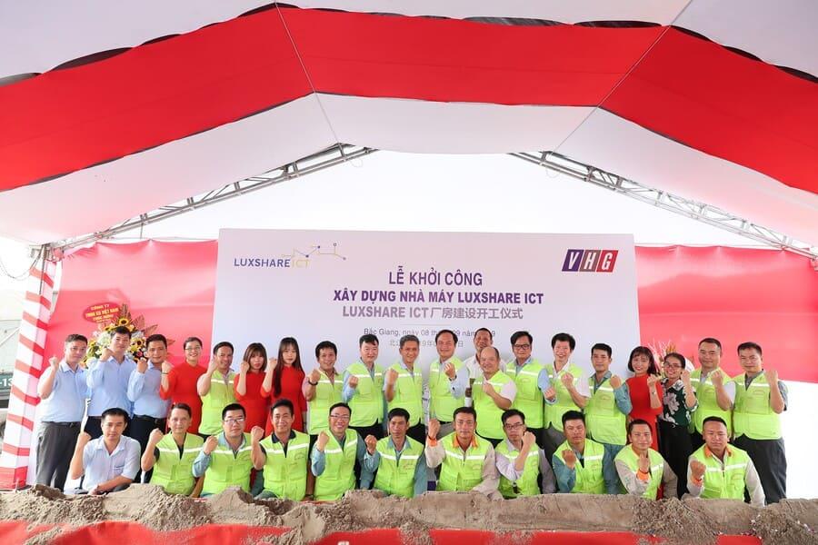 Lễ khởi công dự án xây dựng Nhà máy LUXSHARE-ICT