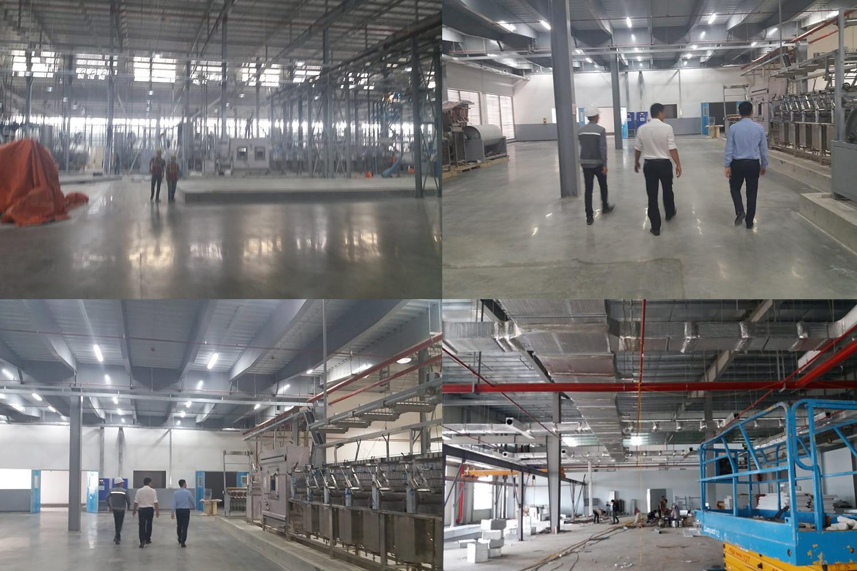 Dự án thi công công trình PCCC nhà máy sản xuất tại VSIP Hải Dương